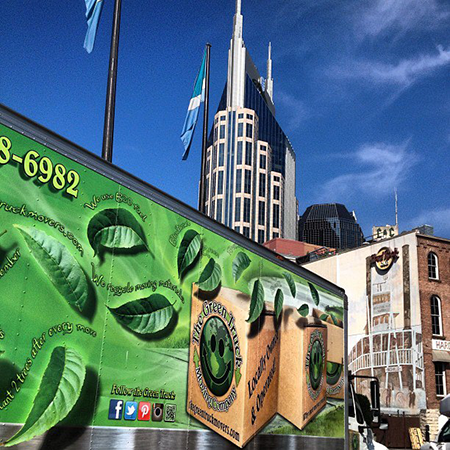 nashville movers, the green truck moving company